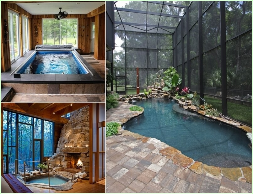 Small Indoor Swimming Pool for Minimalist House 98 Amazing Small Indoor Pool Ideas 1
