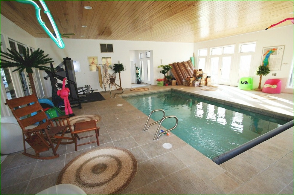 Small Indoor Swimming Pool for Minimalist House 71 Small Indoor Lap Pool 6