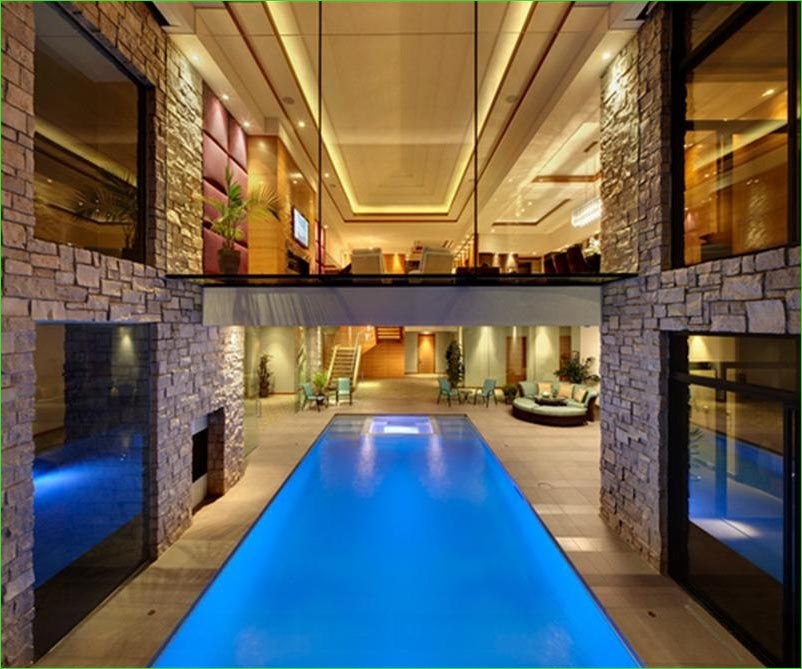 Small Indoor Swimming Pool for Minimalist House 43 Indoor Swimming Pool Designs 5
