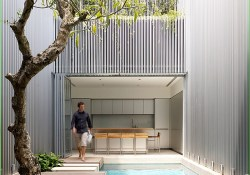 Small Indoor Swimming Pool for Minimalist House 26 World Of Architecture How to Build Incredible Minimalist House Narrow Plot Singapore 5