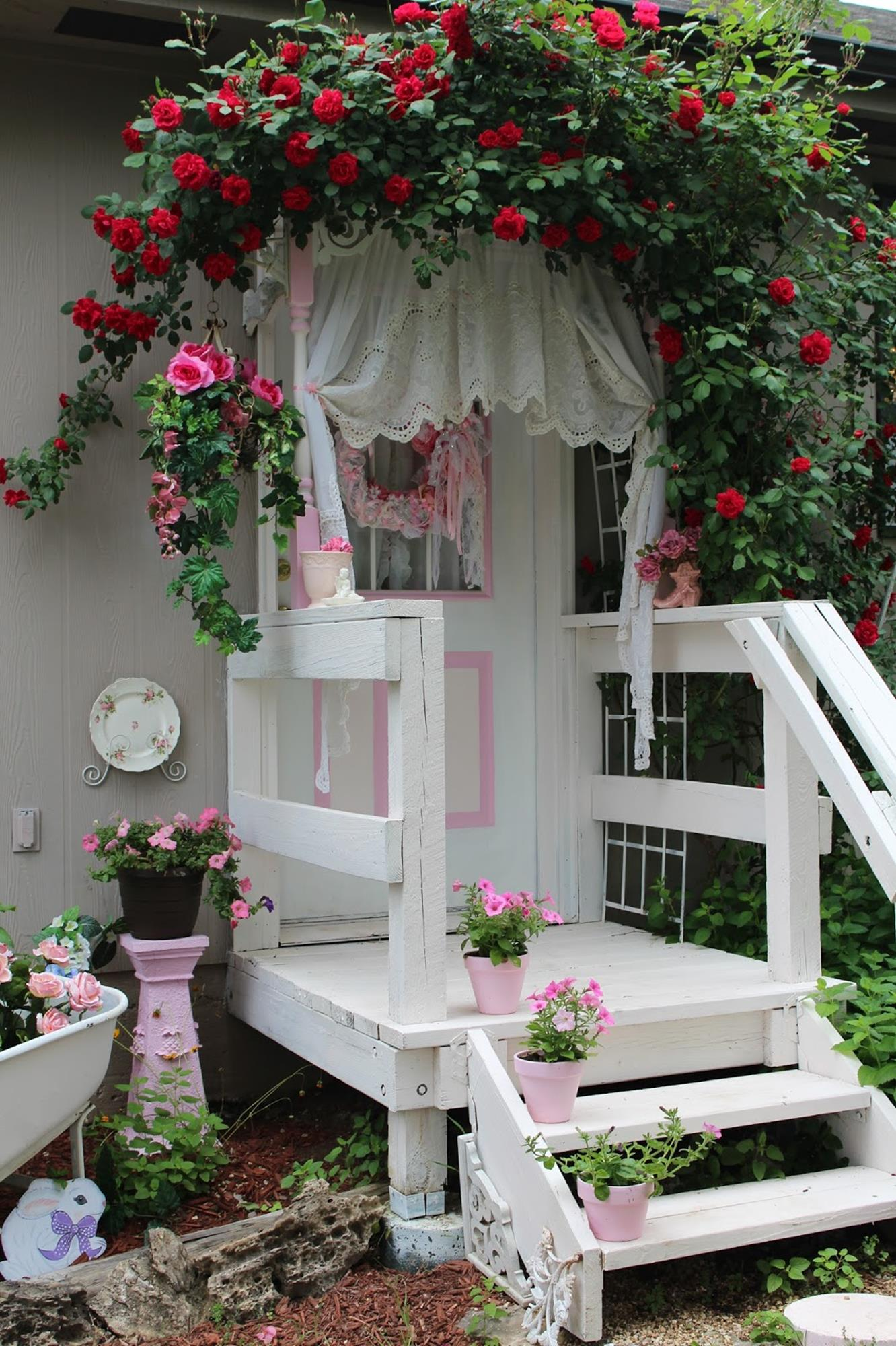 Shabby Chic Garden Decor 51