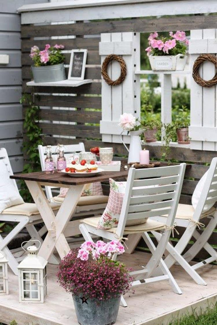 Shabby Chic Garden Decor 53