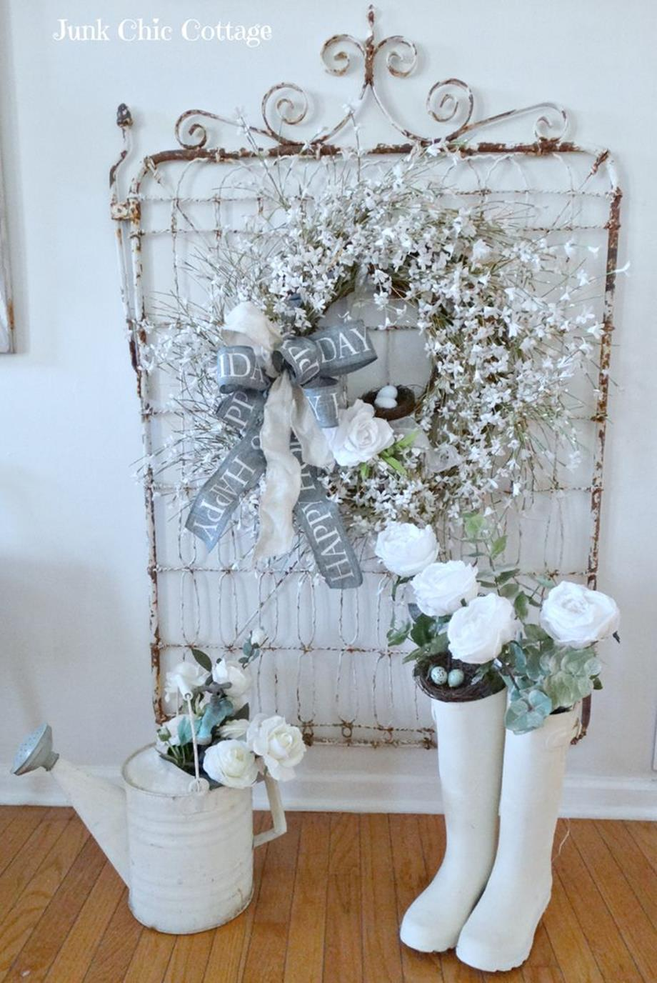 Shabby Chic Garden Decor 65