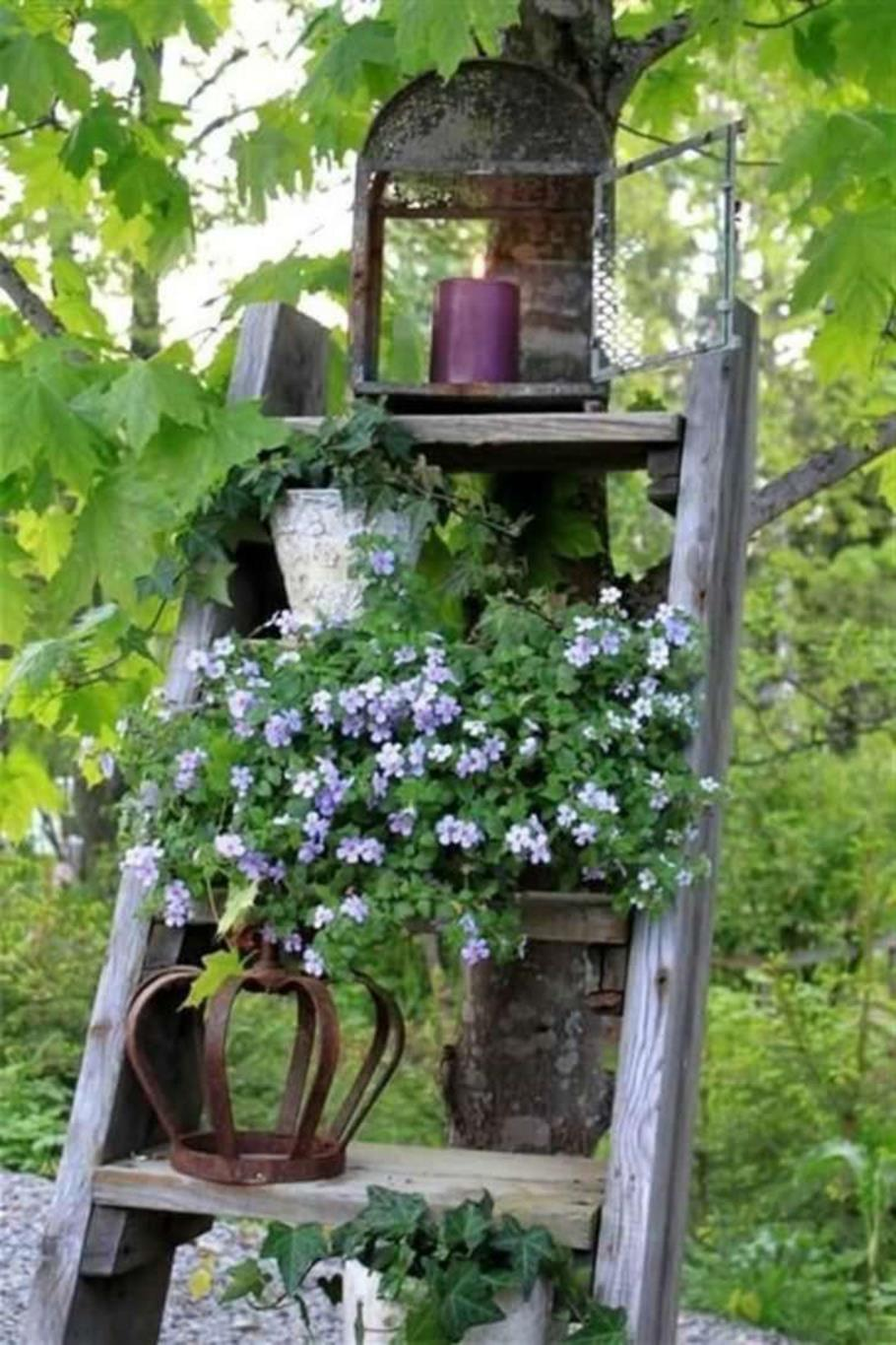 Shabby Chic Garden Decor 77