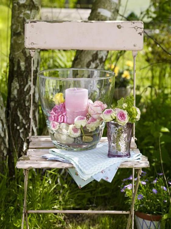 Shabby Chic Garden Decor 85