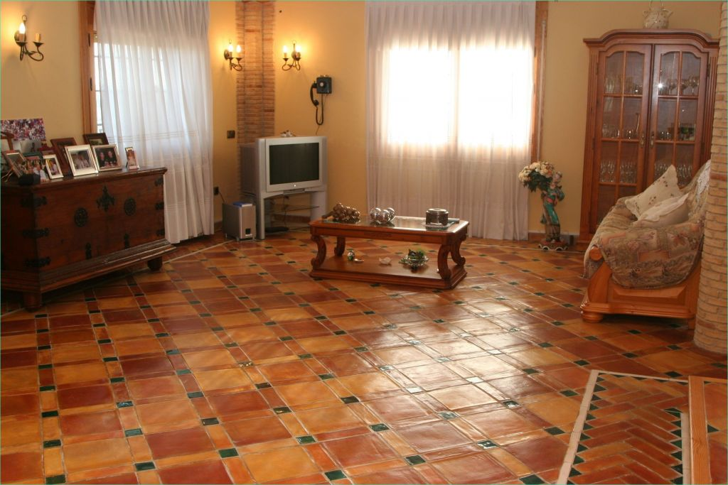 Terracotta Tiles Interior Design 43 Terra Cotta Tile Flooring Design 8