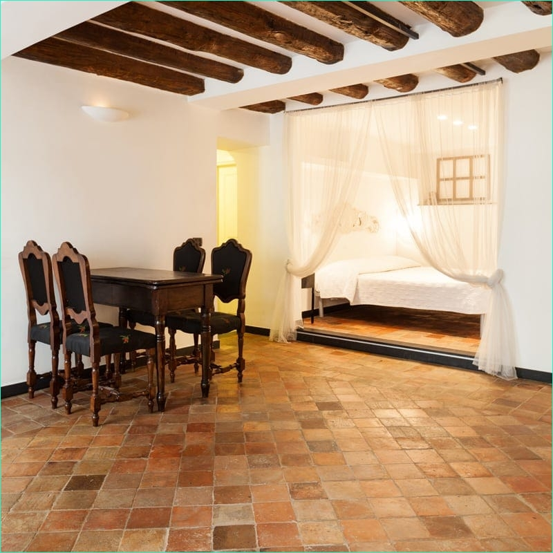 Terracotta Tiles Interior Design 82 Reclaimed Natural Square Terracotta Tiles 6x6 Country Floors Of America Llc 4