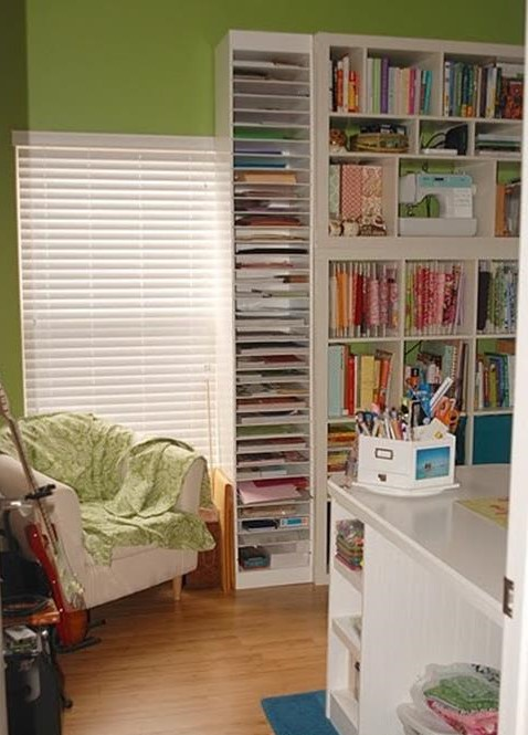 Craft Room Paper Storage 11