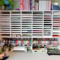 Best Craft Room Paper Storage