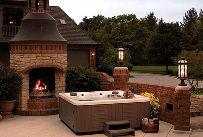 Small Backyard Ideas with Hot Tub 12