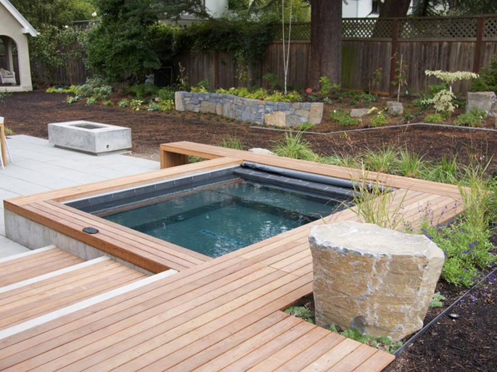 Small Backyard Ideas with Hot Tub 15
