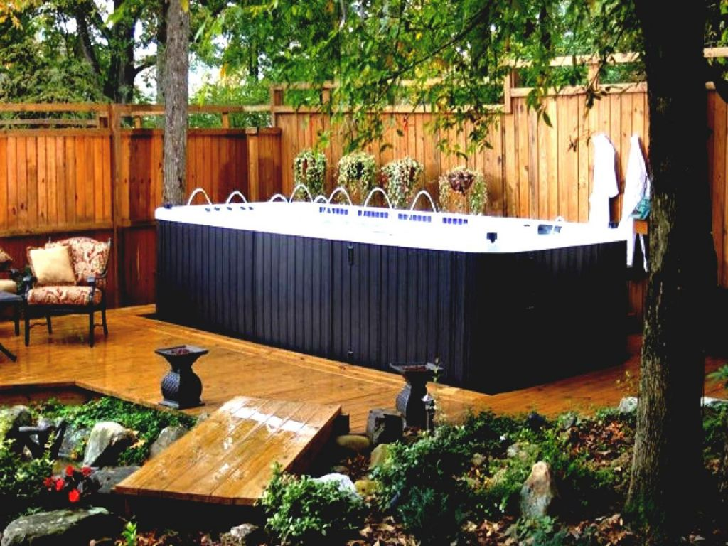Small Backyard Ideas with Hot Tub 23