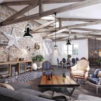 38 Perfect Living Room Smooth Stone Interior Walls Ideas