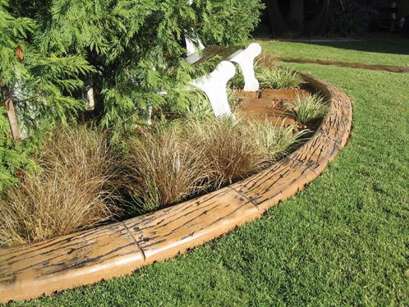 Wood Lawn Edging Ideas 22