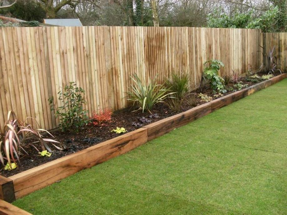 Wood Lawn Edging Ideas 32