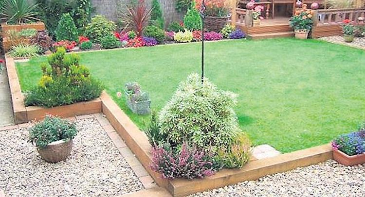 Wood Lawn Edging Ideas 34