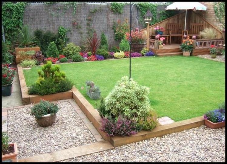 Wood Lawn Edging Ideas 8