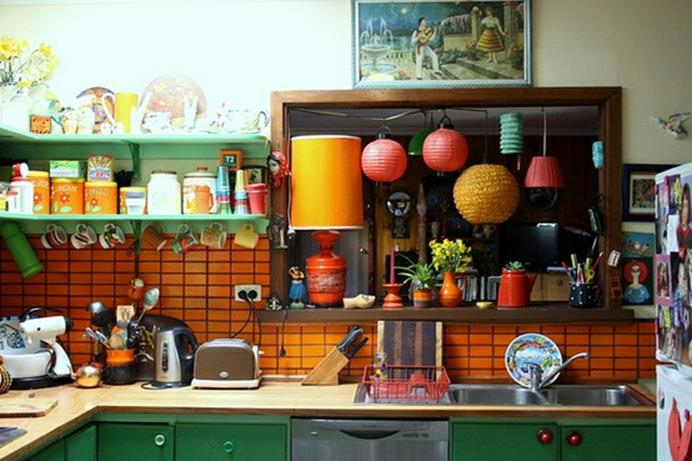 Projects to Make Kitchen More Neat and Beautiful 30