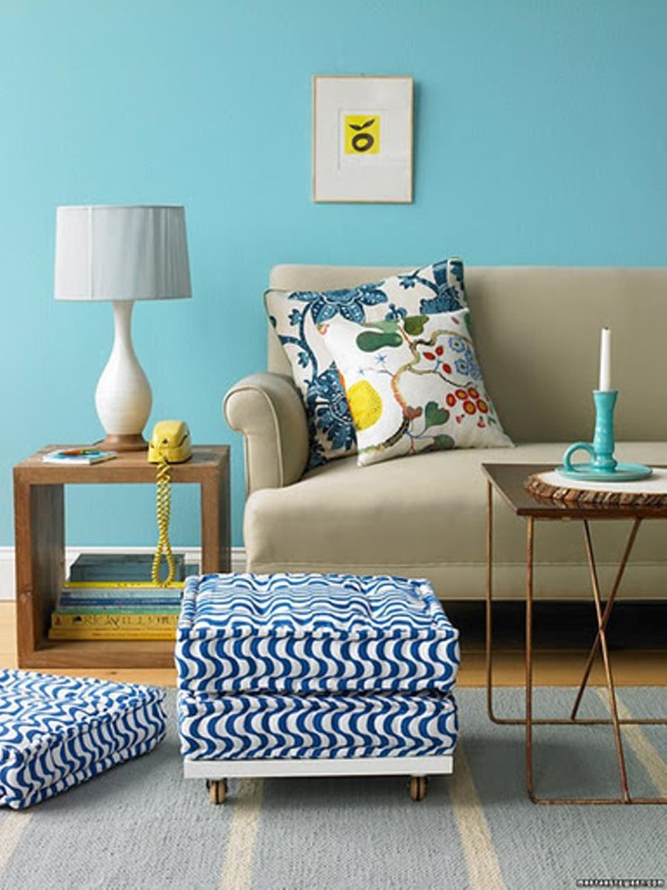 Living Room Accent Wall Color Combinations 11