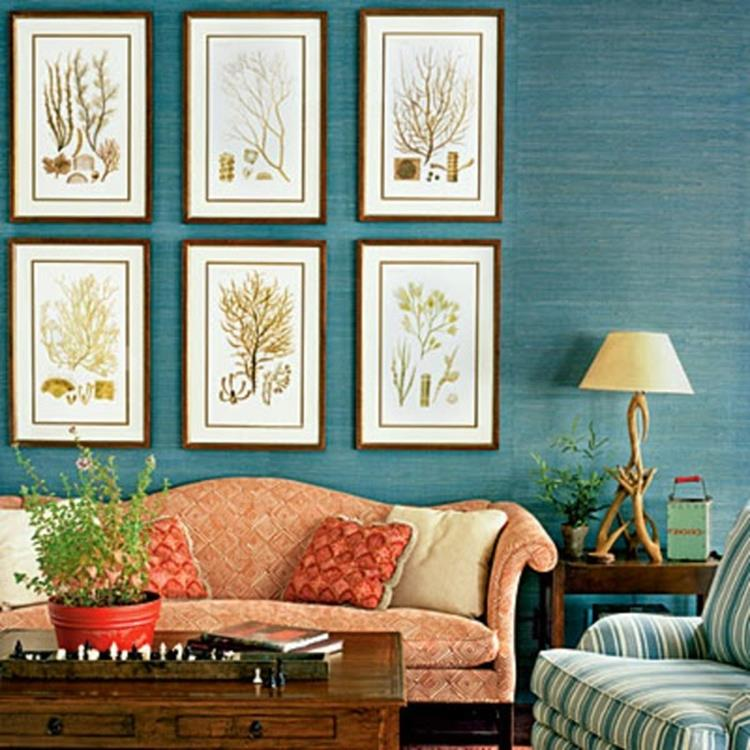 Living Room Accent Wall Color Combinations 17