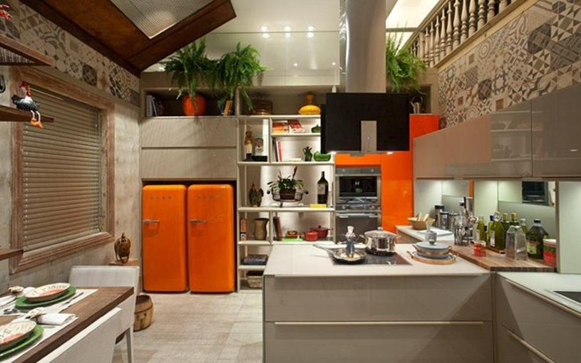 Awesome Retro Style Kitchen Design 4