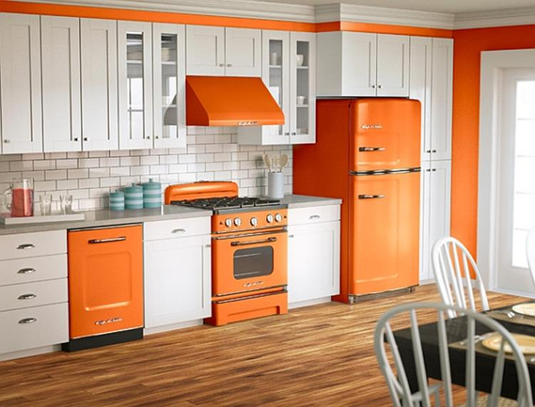 Awesome Retro Style Kitchen Design 40