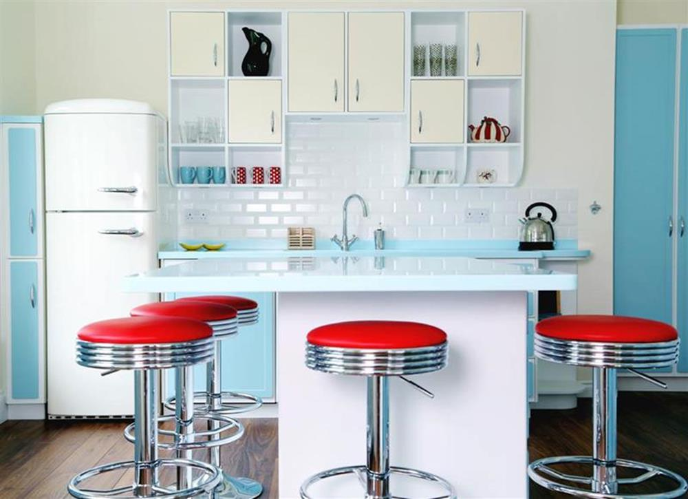 Awesome Retro Style Kitchen Design 6