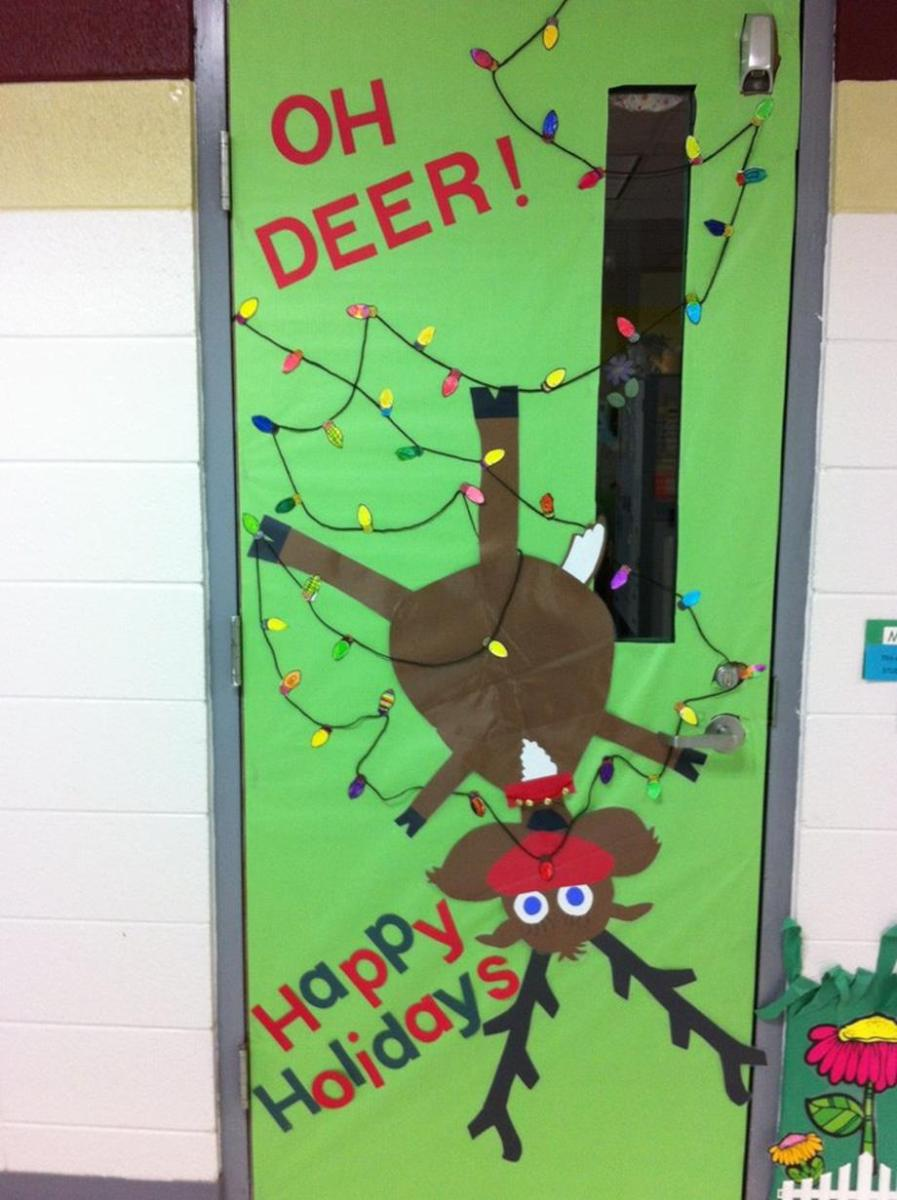 Christmas Door Decorating Contest Winners 33