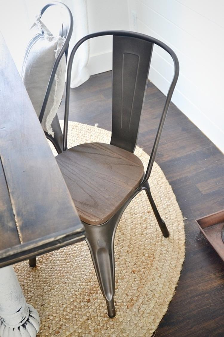 Farmhouse Wood and Metal Furniture 15