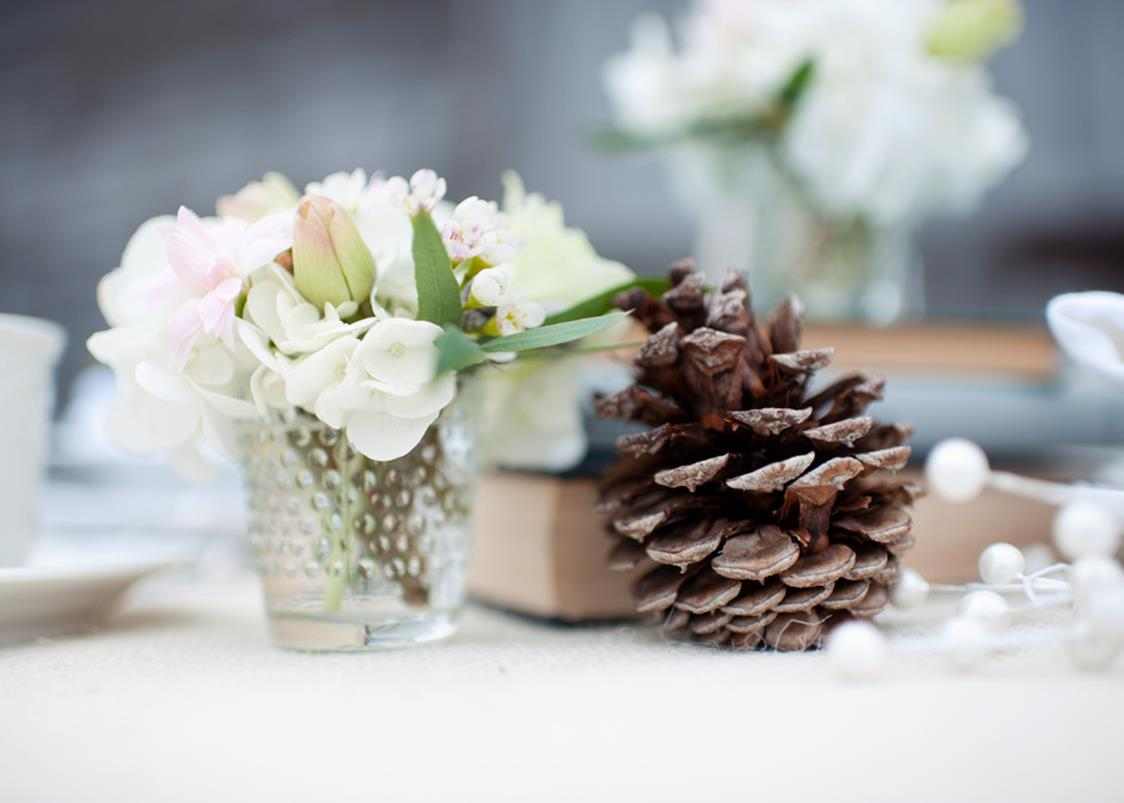 Winter Rustic Centerpieces 10