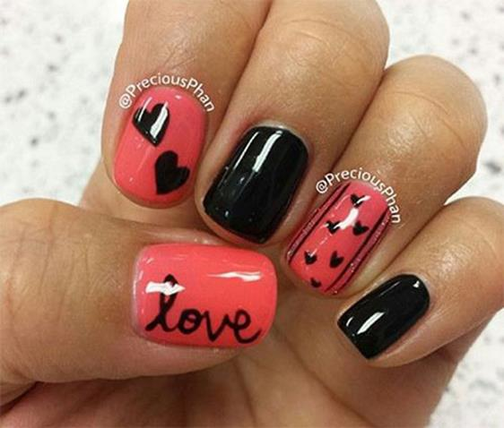 Gorgeous Valentines Day Acrylic Nail Designs 15