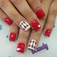 40 Gorgeous Valentines Day Acrylic Nail Designs