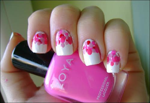 Gorgeous Valentines Day Acrylic Nail Designs 26