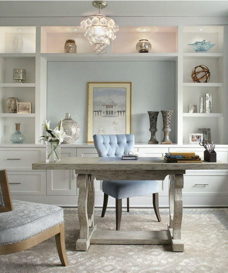 Comfy Home Workspace Decorating Ideas 11