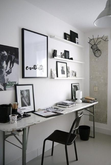Comfy Home Workspace Decorating Ideas 24