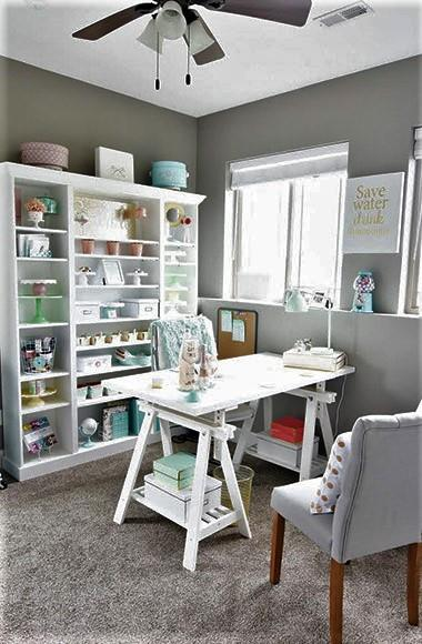 Comfy Home Workspace Decorating Ideas 26