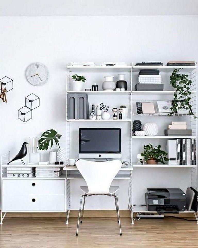 Comfy Home Workspace Decorating Ideas 6