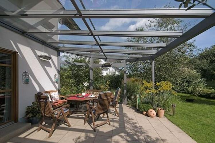 Cozy and Gorgeous Patio Roof with Pergola Glass 29
