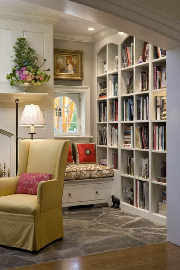 Cozy And Decorated Reading Nooks That Will Inspire You To Design Your Own Little Corner 2