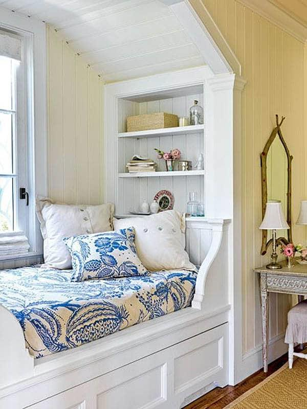 Cozy And Decorated Reading Nooks That Will Inspire You To Design Your Own Little Corner 36