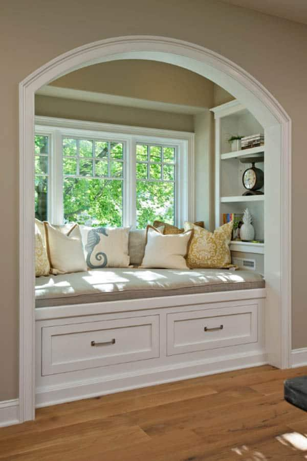Cozy And Decorated Reading Nooks That Will Inspire You To Design Your Own Little Corner 38