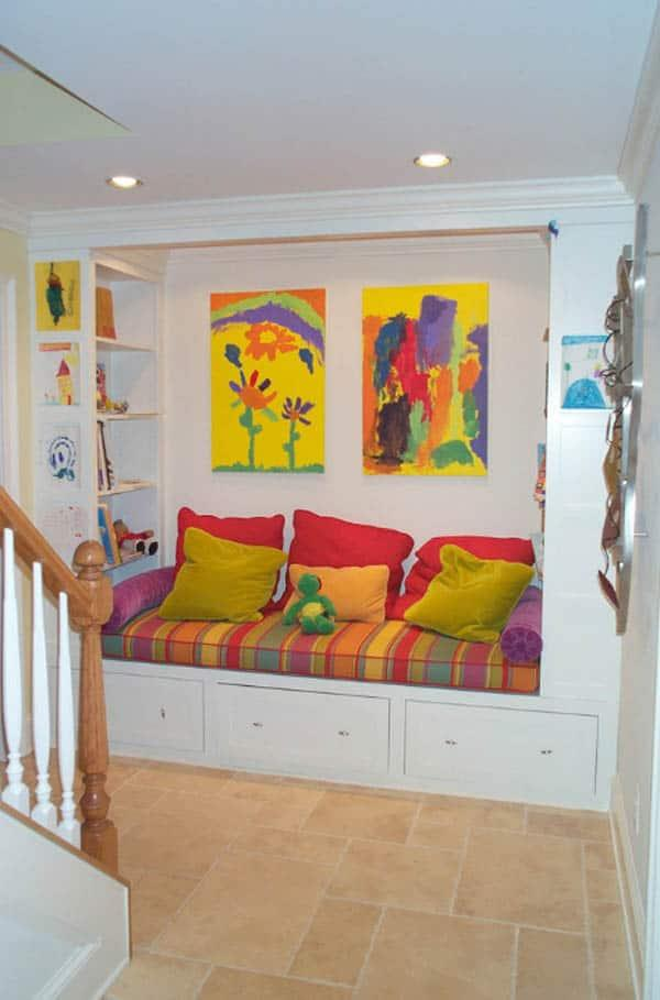Cozy And Decorated Reading Nooks That Will Inspire You To Design Your Own Little Corner 42