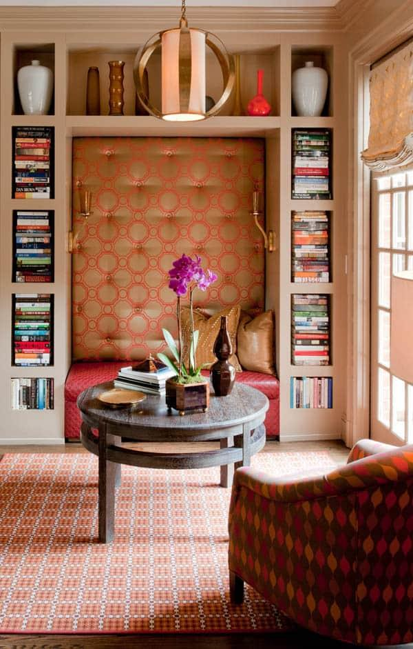 Cozy And Decorated Reading Nooks That Will Inspire You To Design Your Own Little Corner 44