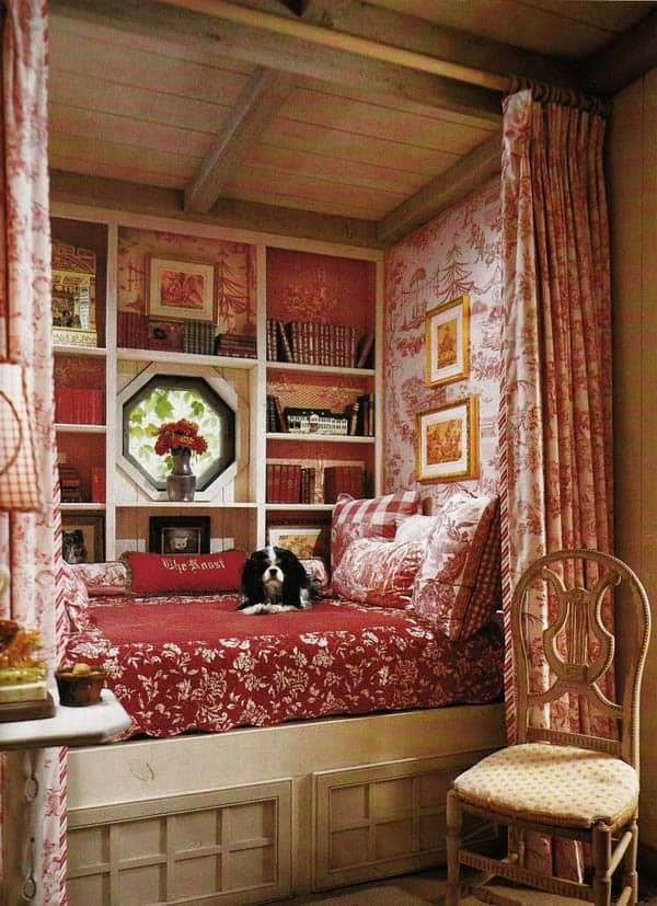 Cozy And Decorated Reading Nooks That Will Inspire You To Design Your Own Little Corner 8