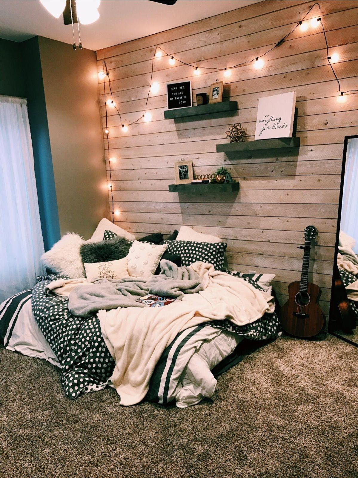 Cute VSCO Teen Girl Bedroom Ideas 11