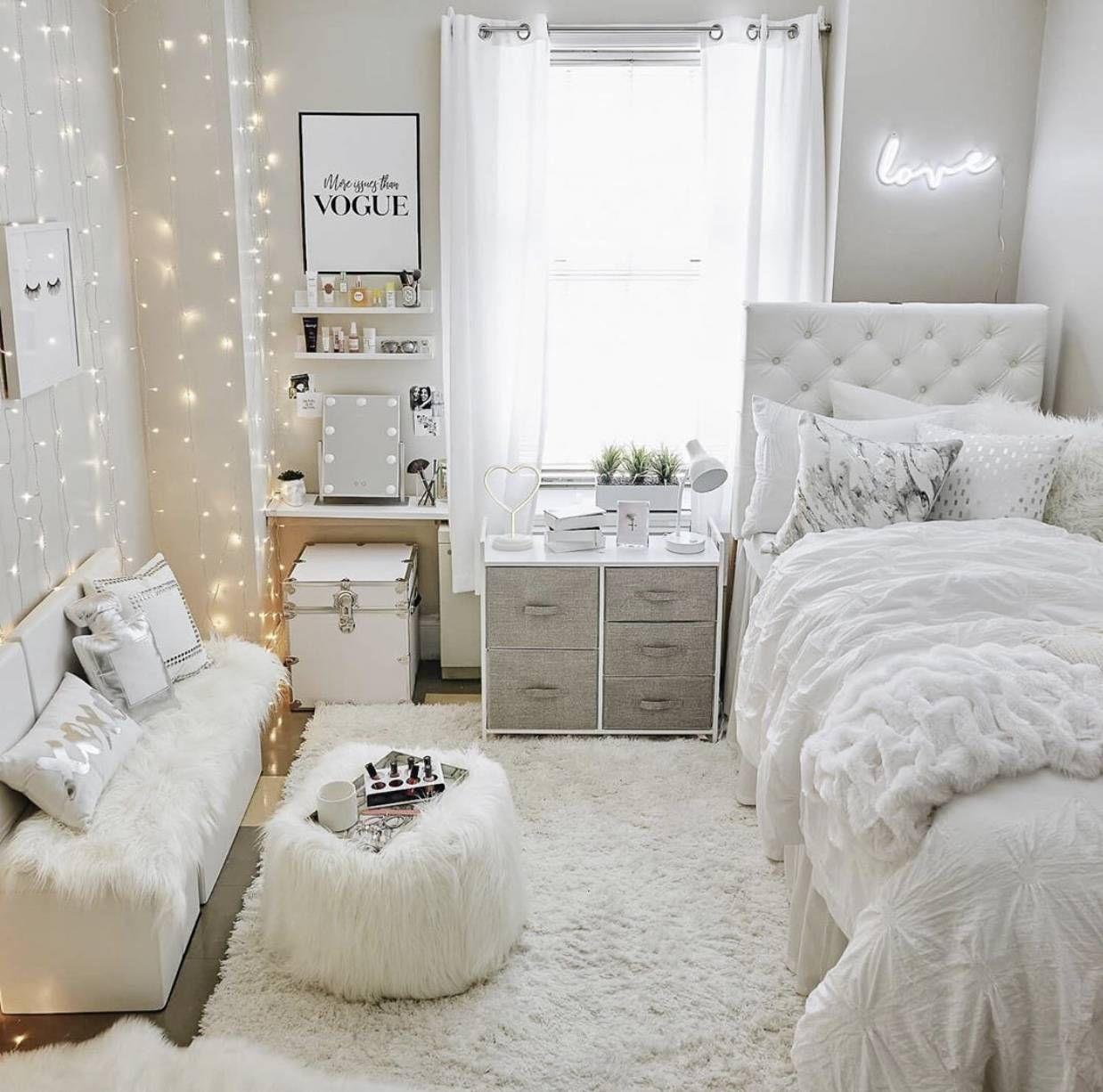 Cute VSCO Teen Girl Bedroom Ideas 14