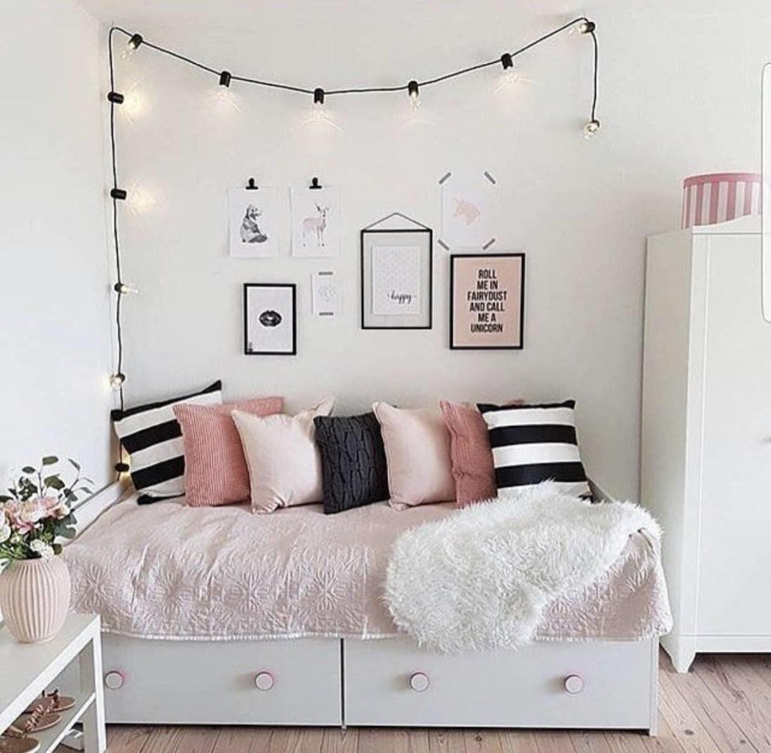 Cute VSCO Teen Girl Bedroom Ideas 31