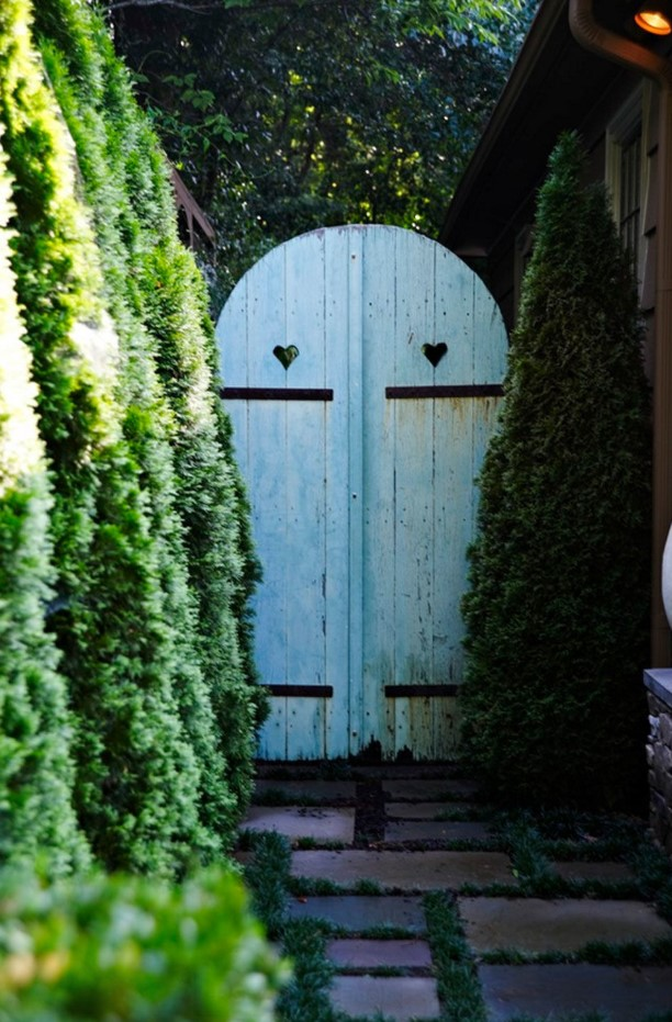 Inexpensive Secret Wood Garden Gates 10