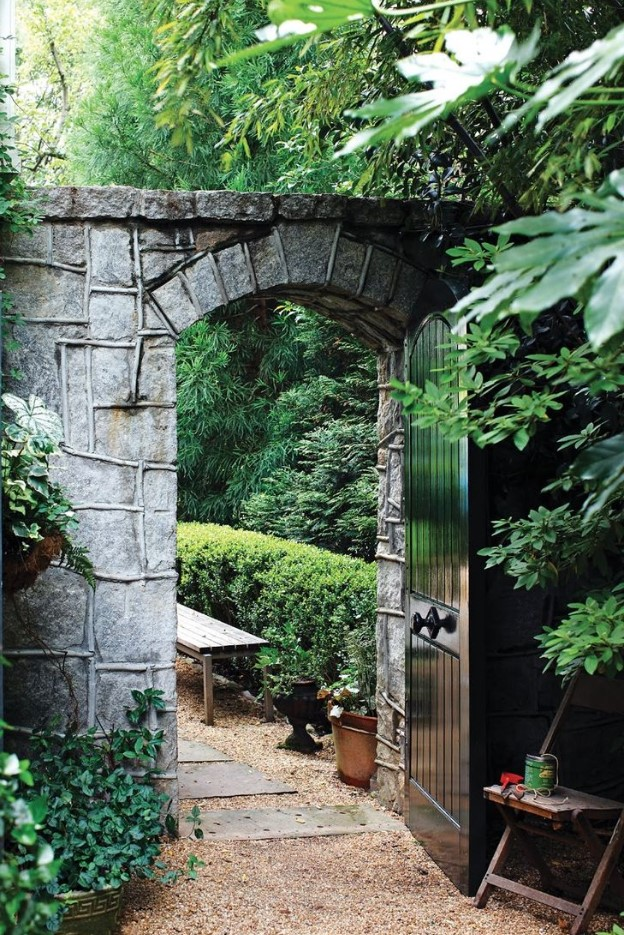 Inexpensive Secret Wood Garden Gates 2