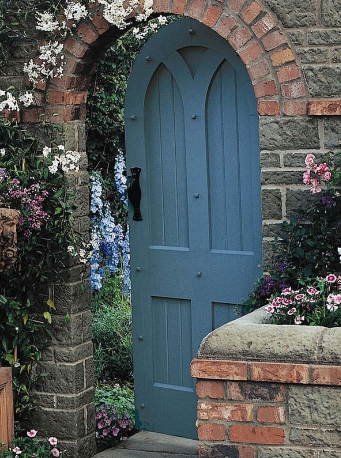 Inexpensive Secret Wood Garden Gates 4